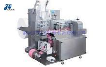 JL-D100型全自动单片湿巾包装机